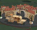 Разработана проектная документация декорации «Замок» для Музея-заповедника Коломенское